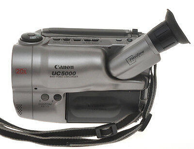 Canon UC5000 UC 5000 8mm Video Camcorder, sold as is without warranty