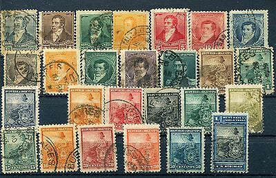 ARGENTINA1892-1902 LOT 26 sellos distinto