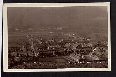 Resolven - General View - real photographic postcard