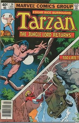 Tarzan (1977 Marvel) #24 VG 4.0 LOW GRADE