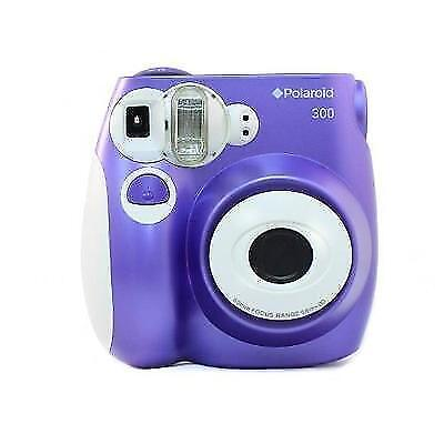 Polaroid PIC-300 Instant Film Camera (Purple) New