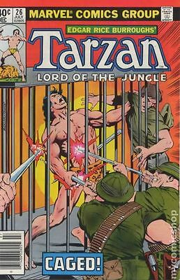 Tarzan (1977 Marvel) #26 VG- 3.5 LOW GRADE