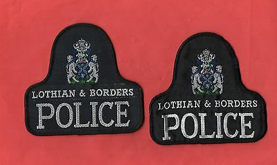 Lothian & Borders POLICE Patches