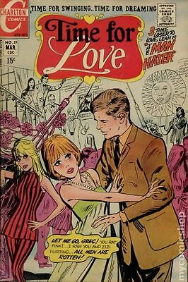 Time for Love (1967) #21 VG- 3.5 LOW GRADE