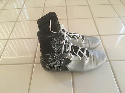 Cam Newton Youth High Top Football Cleats By Under Armour. Size 5.5Y.