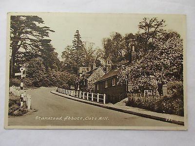 old postcard stanstead abbots cats hill  (posted 1953)