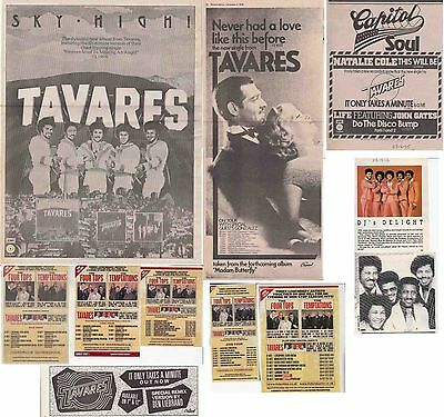 TAVARES : CUTTINGS COLLECTION -adverts-