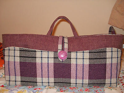 Knitting Bag Hand Made+ Accessories New