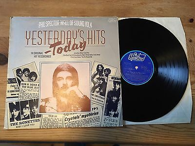 "PHIL SPECTOR WALL OF SOUND Vol.4 ""YESTERDAY'S HITS TODAY"" VINYL LP"