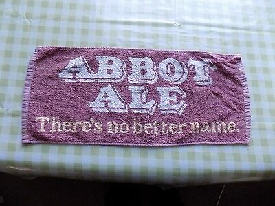 Cloth Bar Towel - Abbot Ale (Greene King)