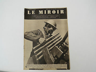 Le Miroir french newspaper 15th October 1939 with an english soldier on cover