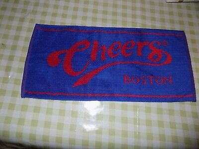 Cloth Bar Towel -Cheers Boston