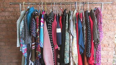 LOT of 35 vtg 80's and 90's women's clothing wholesale resale