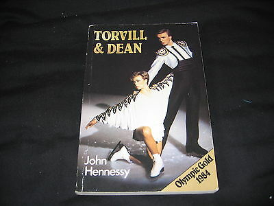 TORVILL & DEAN By John Hennessy OLYMPIC GOLD 1984 Paperback