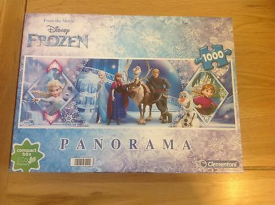 Clementoni Disney Frozen 1000 piece Jigsaw puzzle In Great Condition