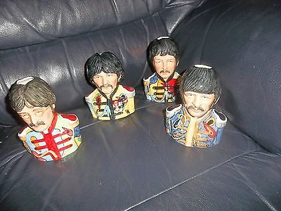The Beatles Sgt.peppers Lonely Hearts Club Band Toby Jugs Limited Edition Mint