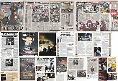 PINK FLOYD : CUTTINGS COLLECTION -adverts interviews-