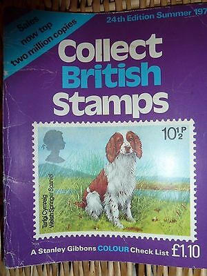 24th Edition - 1979 - Collect British Stamps - Stanley Gibbens Colour Check List