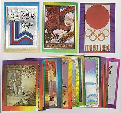 1996 Centennial Olympic Games ~ Dufex ~ Poster Card Complete Set (20) ~ L@@k!!!