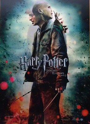 Brand New HARRY POTTER 3D Lenticular POSTERS Deathly Hallows
