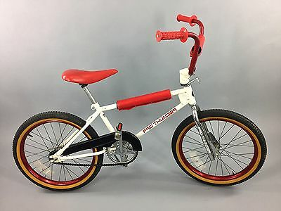 1980's Vintage Huffy Pro Thunder BMX Bicycle, Complete, V-Bars & Rad Pads