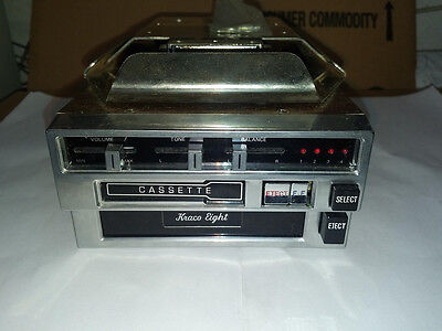 Kraco Cassette And 8 Track Auto Stereo Model Ks-980A