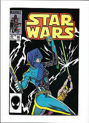 "Star Wars #95  [1985 Vg+]  ""duel With A Dark Lady!"""