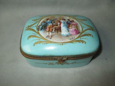Fabulous Hand Painted French Dresser Box