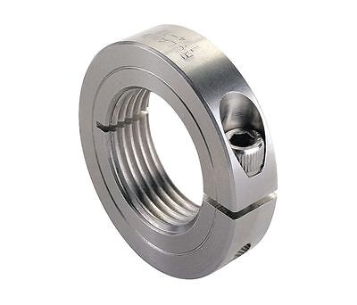 RULAND MANUFACTURING Shaft Collar,Clamp,2Pc,20mm,Steel MSP-20-F
