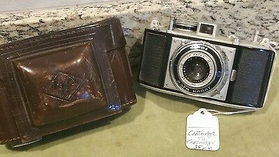 Vintage Agfa Karat Cartridge to Cartridge 35mm Camera with Case