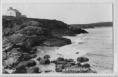 Hayle Cornwall - The Cliffs  1936