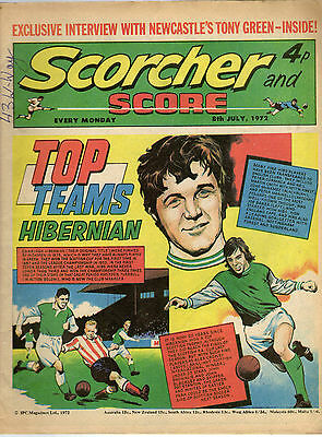 Scorcher and Score Comic: 8th July 1972