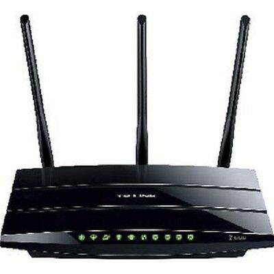 As New Tp-Link N600 Wireless Dual Band Gigabit Adsl2 + Modem Router