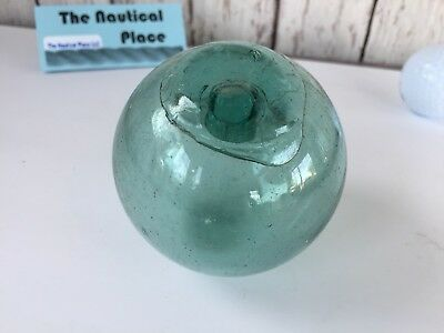 "3"" Japanese Glass Fishing Floats ~ No Netting ~ Authentic Old Vintage"