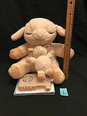 Cloud B Sleep Sheep CRIB Sounds Plush TOY 4 SOOTHING SOUNDS + BABY LAMB