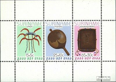 Suriname block36 (complete issue) unmounted mint / never hinged 1983 Commodities