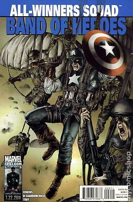 All Winners Squad Band of Heroes (2011 Marvel) #2 FN