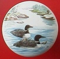 Cabinet Knobs Knob w/ Loons #5 BIRD