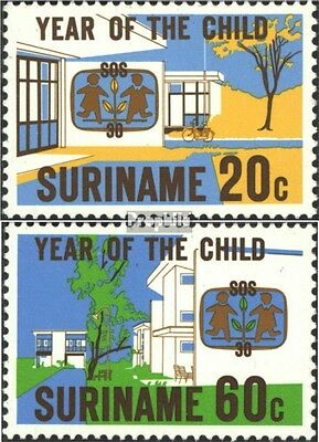 Suriname 880-881 (complete issue) unmounted mint / never hinged 1979 Year of Kin