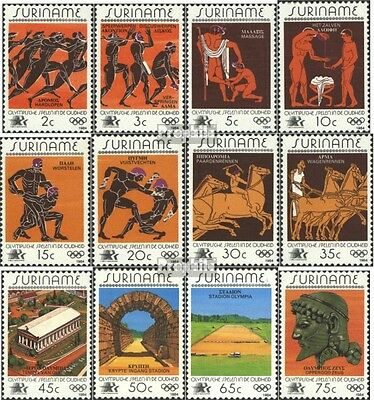 Suriname 1082-1093 (complete issue) unmounted mint / never hinged 1984 Summer
