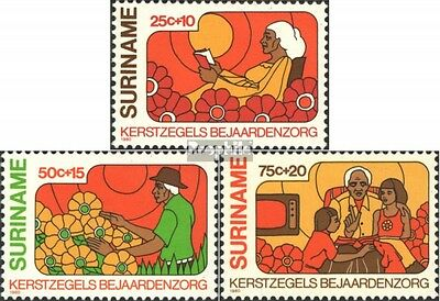 Suriname 926-928 (complete issue) unmounted mint / never hinged 1980 christmas