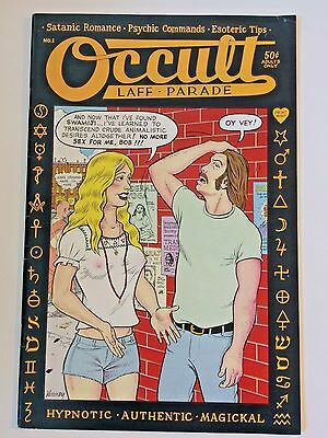 OCCULT LAFF PARADE Rick Griffin Deitch Green Hayes Print Mint 1973 NM-