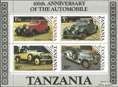 Tanzania block53 (complete issue) unmounted mint / never hinged 1986 100 years A