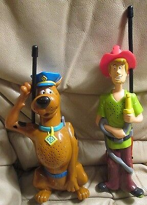 Scooby Doo Walkie Talkies vintage rare with Morse code Shaggy