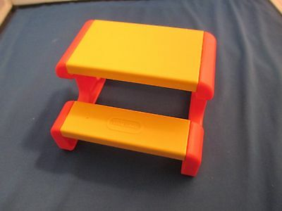 Little Tikes Picnic Table Dollhouse Size  Doll House