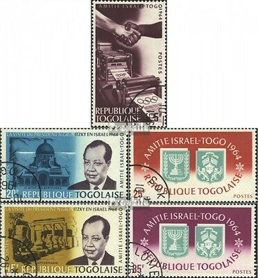 Togo 452A-456A (complete issue) used 1965 Friendship Togo and I