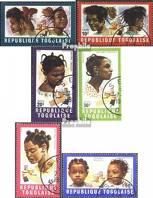Togo 780A-785A (complete issue) used 1970 Hairstyles