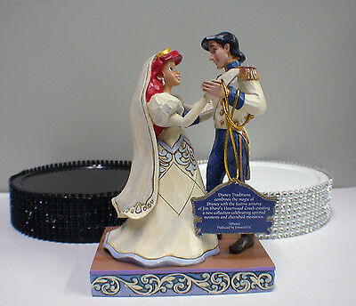 little mermaid and prince eric wedding cake topper disney mermaid wedding cake topper princess ariel 16909