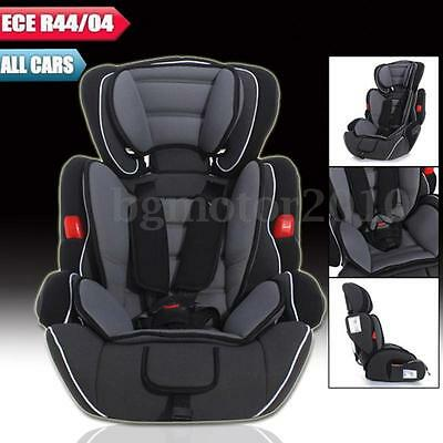 Convertible Car Seat Infant Safety Children Baby Kid Booster Group 1/2/3 9-36 kg