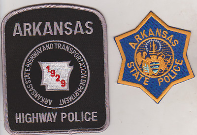 Arkansas State Police & Arkansas Highway Police patches